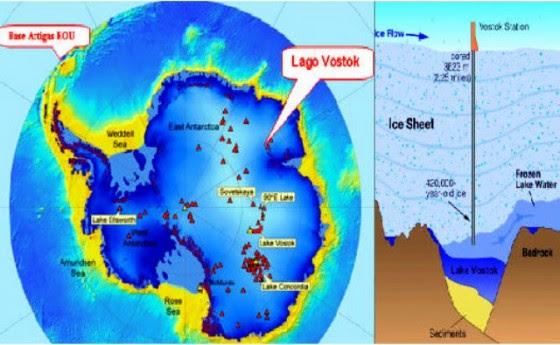 Resultado de imagen de La Anomalía Magnética del Lago Vostok.