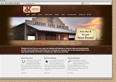 Lubbock Wedding Venue and Event Hall Website Design