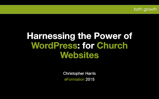 Harnessing the Power of WordPress for Church Websites