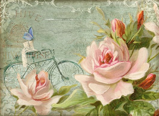 Summer At Cape May - Bicycle by Audrey Jeanne Roberts
