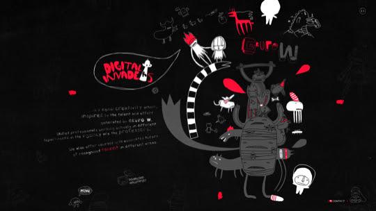 darksites30 50 Diseños web oscuros para inspirarte