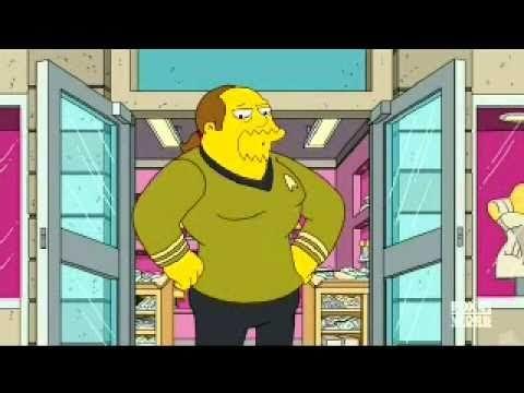 Comic Book Guy Star Trek