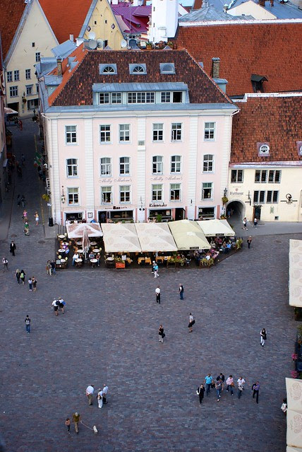 View from Town Hall Tower | Tallinn 2011