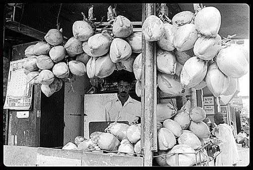 Dayanand Famous Naryalwala Cum Panwala Of Bandra Bazar Road by firoze shakir photographerno1
