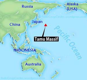 gunung-tamu massif map