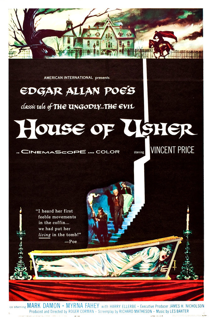 Reynold Brown - House of Usher (American International, 1960)