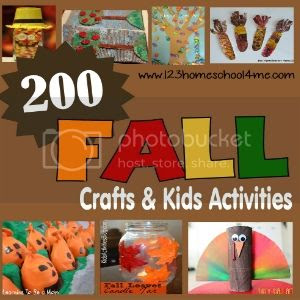 200+ Fall Crafts for kids from Leaves to Apples to Pumpkins to Turkeys