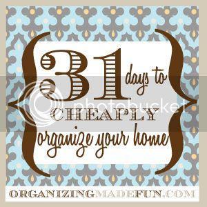 cheap organizing