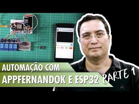 Automação com AppFernandoK e ESP32