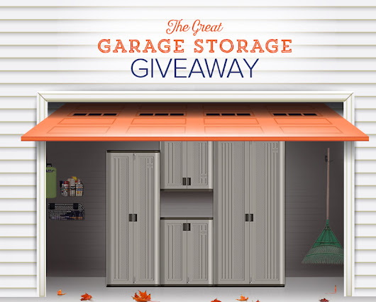 The Great Garage Storage Giveaway