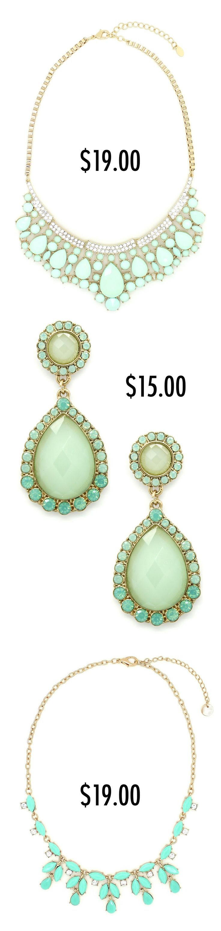 Jewelry under $19.00 from Eye Candy Los Angeles - so many cute colors!