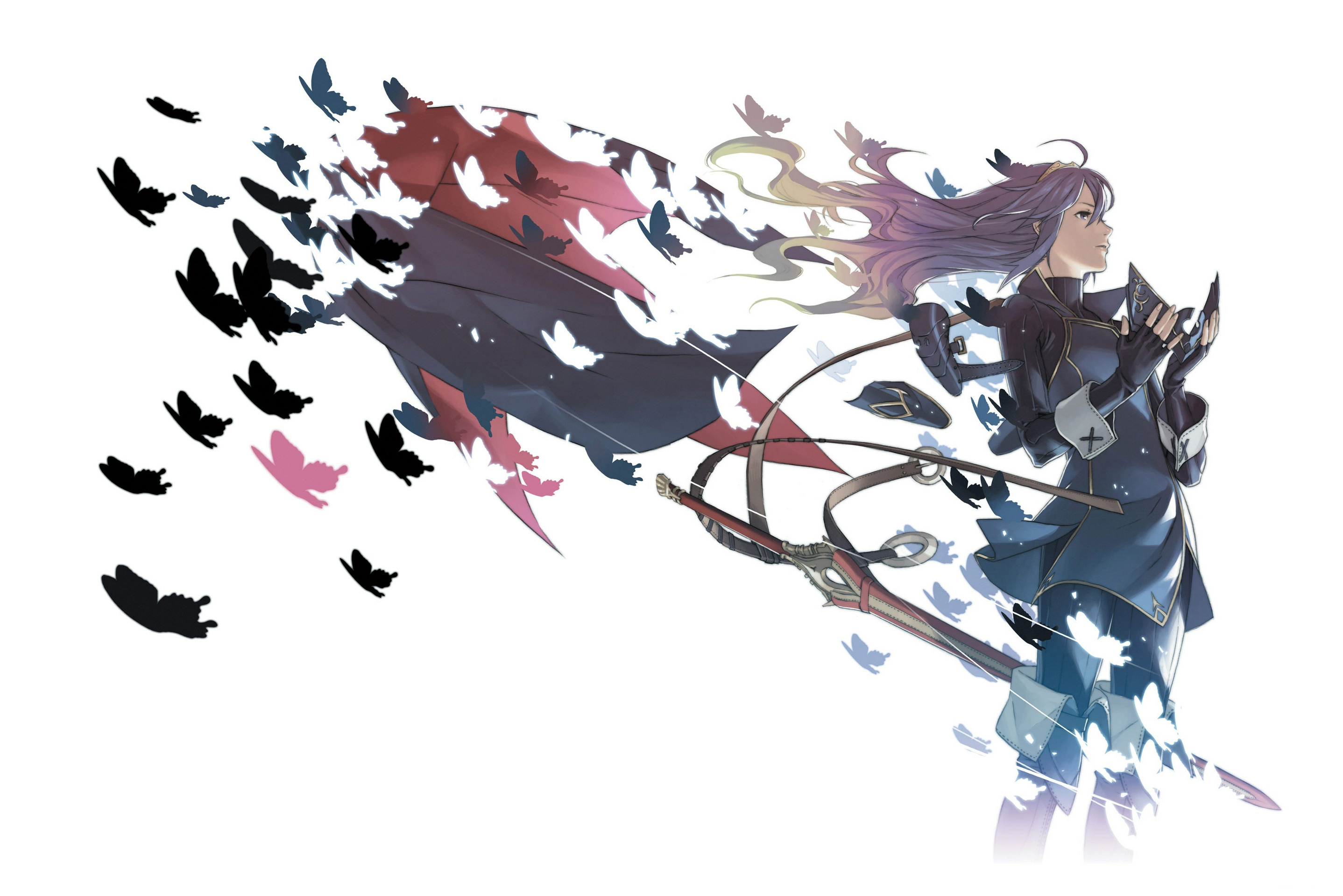 Anyone Know If This Lucina Picture Exists Anywhere Uncropped