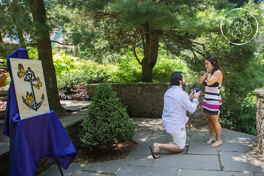 Proposal Photography Rochester NY: John and Nicolette