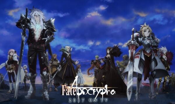 Resultado de imagem para Fate / Apocrypha 2017