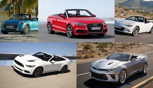 TopSpeed's Top 5 Convertibles That Won't Break The Bank