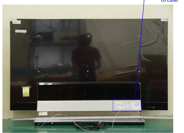 LG's first 55inch OLED HDTV stops by the FCC, fresh off of the assembly line