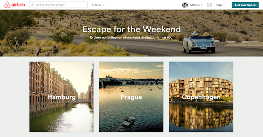 Airbnb Launches Weekend Getaways To Help You Plan Your Next Weekend Trip