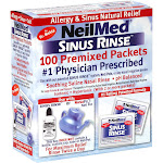 NeilMed Sinus Rinse Premixed Packets - 100 count