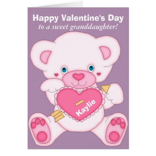 Granddaughter Valentine Card Love2loveforeignluxuryco