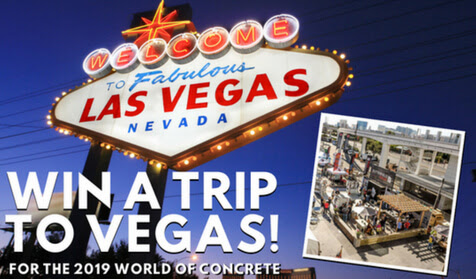 Win a Trip for 2 to the 2019 World of Concrete from Butterfield Color®