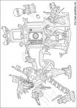 ausmalbilder lego ninjago roboter - malbild