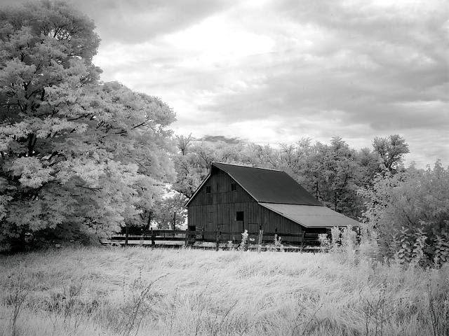 Barn, Route 66, near Staunton, Illinois