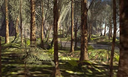 Where's Dim Sum? #121 - Through the trees