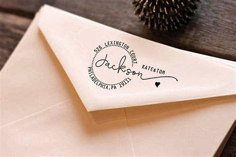 Return Address Stamps, Custom Rubber Stamps, Personalized