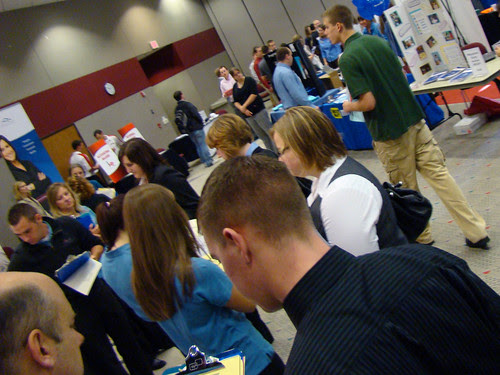 Flickr: uwgb admissions - 2010 Fall Job & Internship Fair
