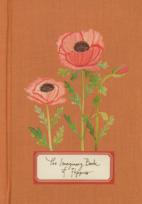 Imaginary book of poppies