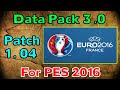 Cara Instal Data Pack 3.0 PES 2016