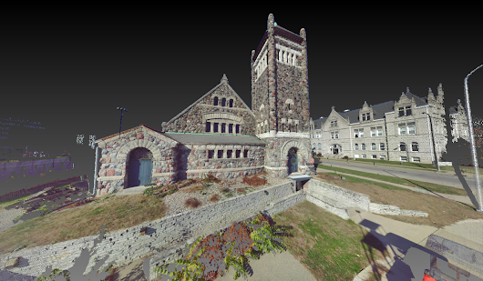 Cornerstone Building - Obed & Isaac's Peoria Location - US Laser Scanning