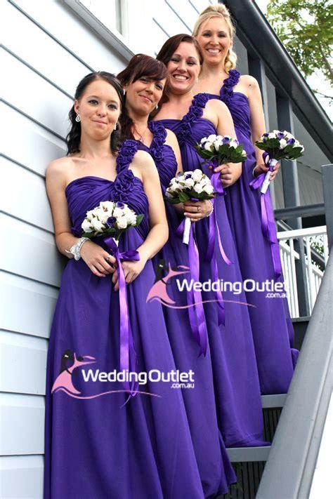 Cadbury Purple Bridesmaid Dresses   WeddingOutlet.com.au
