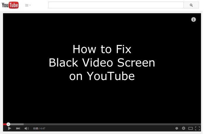 fix-youtube-black-screen-youtube