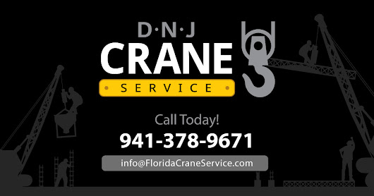 DNJ Crane Service - Heavy Lifting, Boat Haul-out, Commercial Signs
