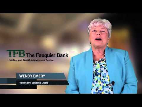 Business Banking Warrenton VA | (540) 347-2700 | The Fauquier Bank – Lending