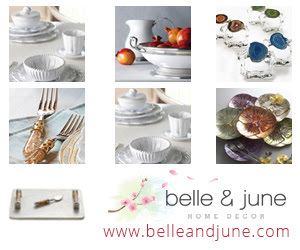 Luxurious Tabletop Decor for Any TableSetting. Shop belleandjune.com and take 10% off Your First Order