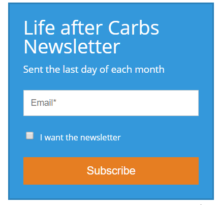 Announcing the Life after Carbs newsletter - Life After Carbs