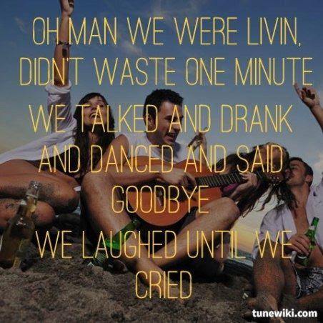 Jason Aldean Laughed Until We Cried Lyrics