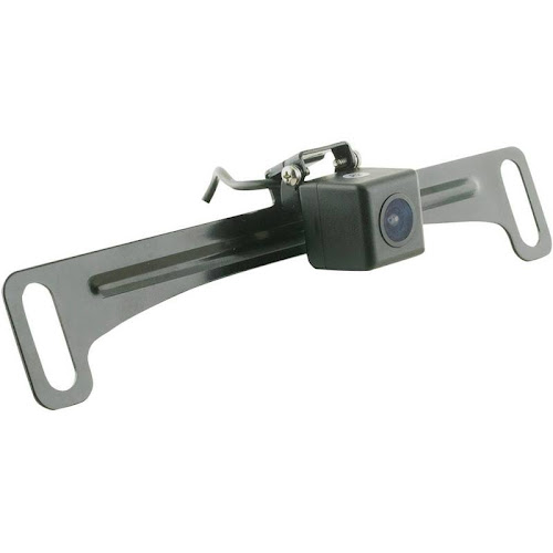 Echomaster - License Plate Back-Up Camera - Black CAM-TGL