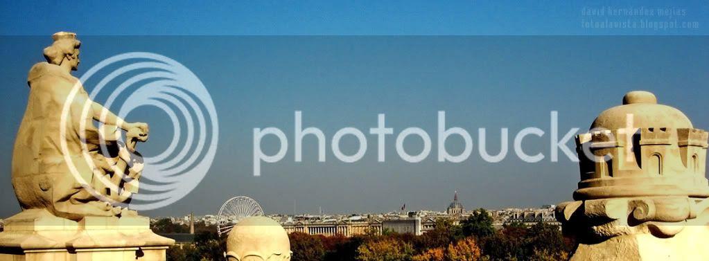 Panorámica de París desde el interior de uno de los pisos superiores del Museo de Orsay