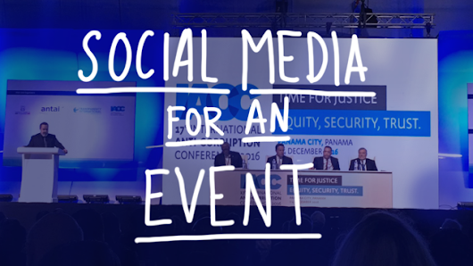 Covering an event with Social Media