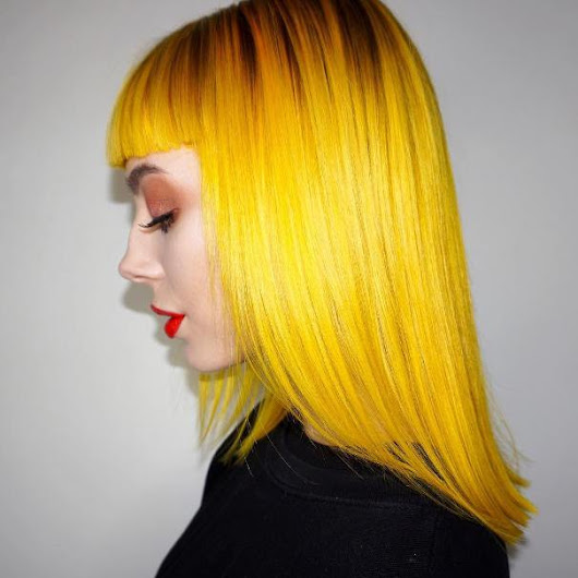 50 Eye-Catching Yellow Hair Color Ideas - Ombre Hair