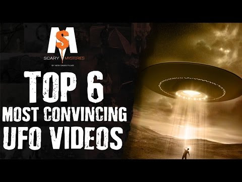 6 Most CONVINCING UFO's Caught On Video