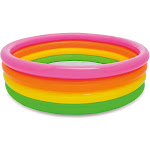 Inflatable Pools for Pool Parties for Little Kids, Boys & Girls with Various Size & Colors Summer Fun & Ball Pool by The Season Toys &#