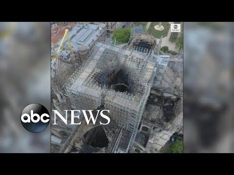 .這些技術助力巴黎聖母院浴火重生