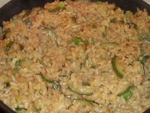 Sage, Zucchini & Green Onion Risotto