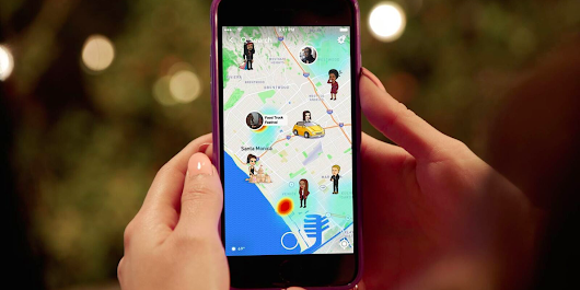 Snapchat's new maps feature shows you where your friends are