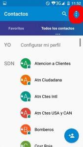 Android los donde guardan en se carpeta contactos Qué se