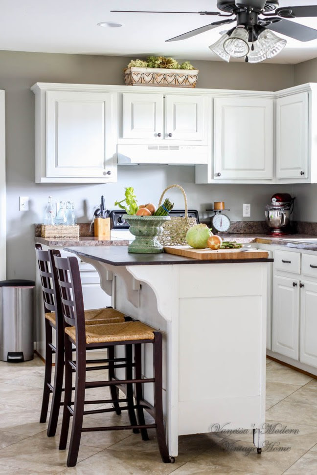 kitchen makeover - white kitchen